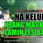 Iklan Himbauan Pemda KSB pada masyarakat untuk menggunakan masker