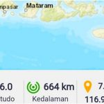Gempa 6.0 SR Guncang NTB, BMKG Himbau Waspada Gempa Susulan