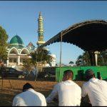 Gema Takbir Berkumandang Di Depan Masjid Agung Darussalam KTC