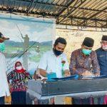 Bupati KSB Saksikan Penandatangan MOU BKSDA NTB Dengan Forum Nelayan Lebo'