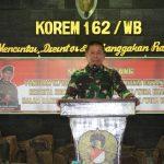 """Gelombang Sakti 20"" Latihan Posko I Korem 162/WB, Resmi Di Buka Pangdam IX/Udayana."