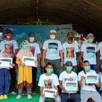 Peringati Hari Sumpah Pemuda, PT. AMNT Gelar Clean Up Day Di Pantai Maluk