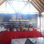 Bawaslu Kabupaten Sumbawa Barat Gelar Rapat Rakor Evaluasi Sentra Gakkumdu