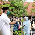 Wabup Pantau Proses PTM di Kecamatan Seteluk dan Taliwang