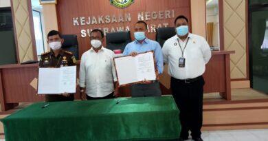 Kejaksaan Negeri Sumbawa Barat Teken MoU Dengan PD. BPR NTB KSB