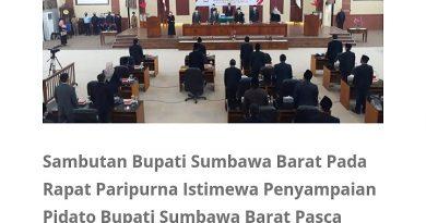 Dihadapan Parlemen, HW Musyafirin Sampaikan Visi-Misinya Lima Tahun Kedepan