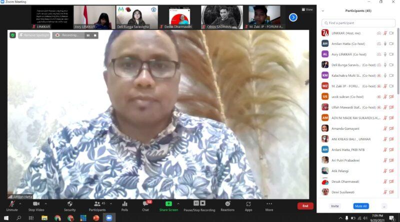 Gelar FGD Virtual Seri 2, LINKKAR Garap Film Pendek Sebagai Media Kampanye Perlindungan Anak